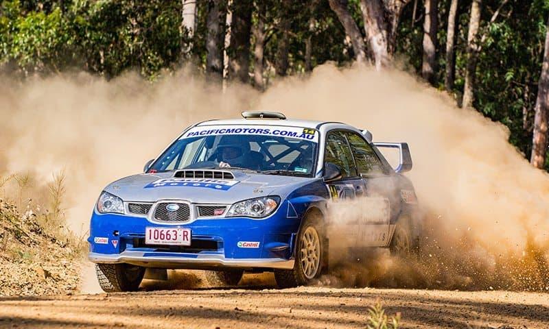 Phillip Pluck Narooma Rally 2017