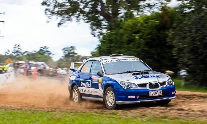 Phillip Pluck Rally Australia
