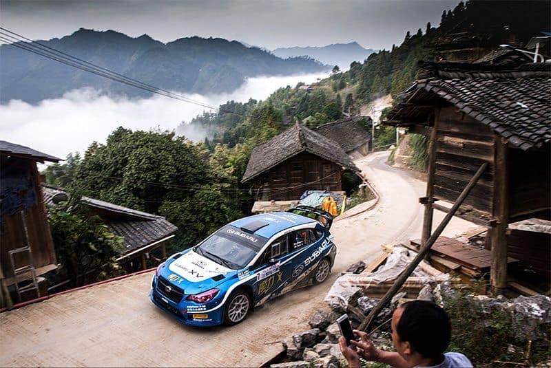 Chris Atkinson Subaru XV