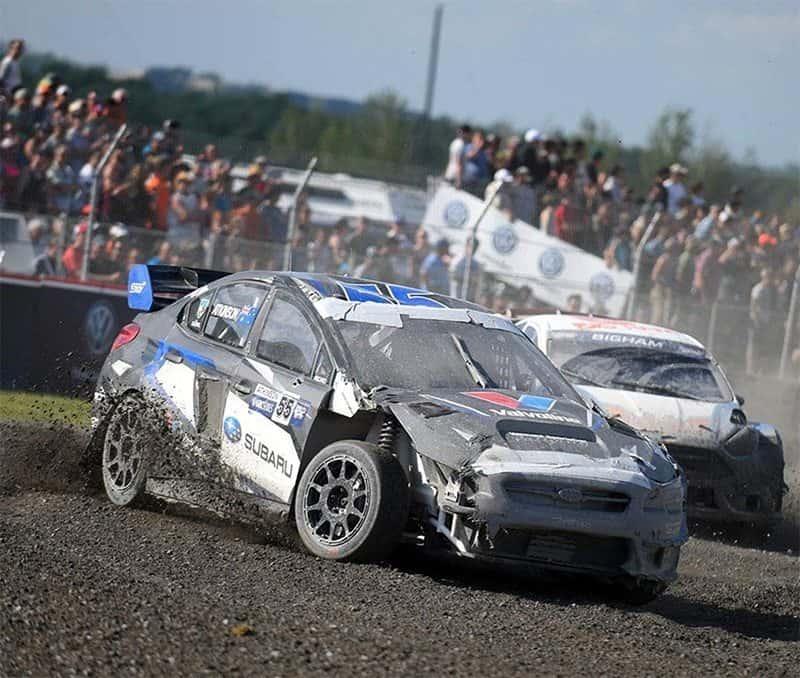 Atkinson rallycross