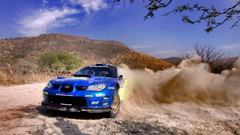 Chris Atkinson Rally Mexico