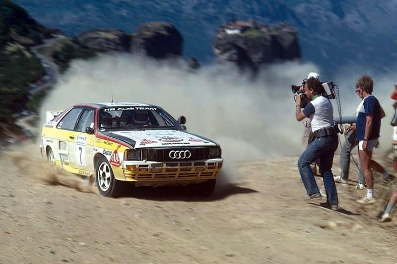 Hannu Mikkola Audi Quattro Acropolis Rally
