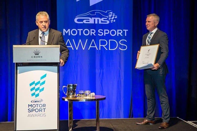 Stuart Bowes CAMS award