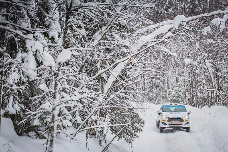 David Holder Rally Sweden