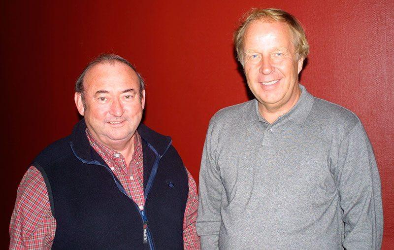 Tony Mason and Hannu Mikkola