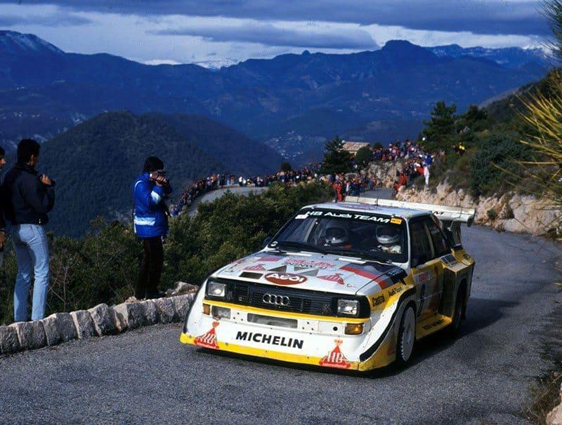 Mikkola 1986 Monte Carlo Rally