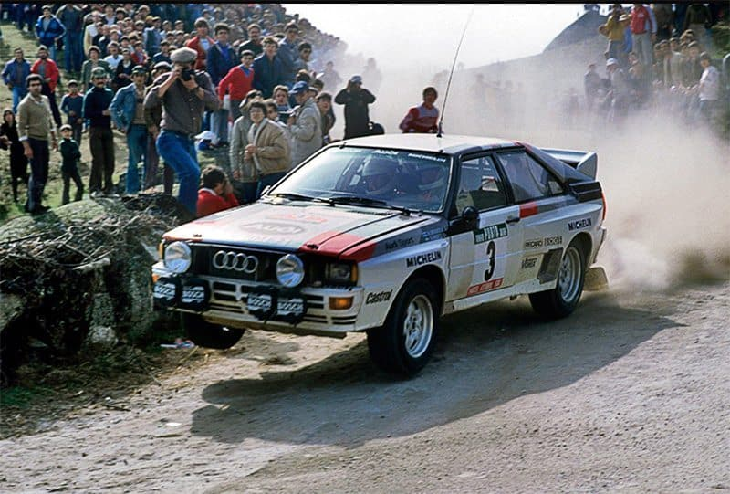 Mikkola 1983 Rally of Portugal