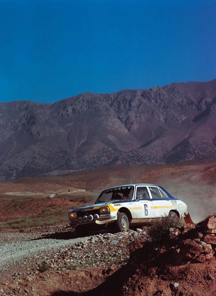 Hannu Mikkola 1975 Morocco Rally