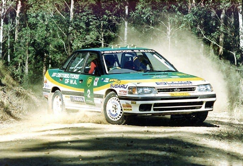 Rob Herridge Subaru Liberty RS Turbo