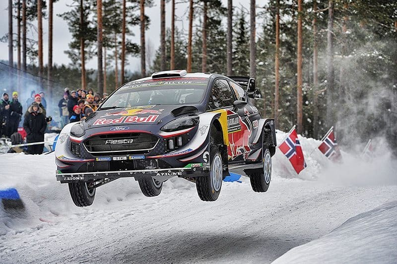 Sebastien Ogier Sweden 2018