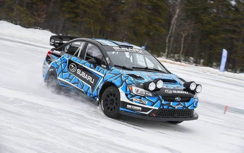 Subaru Rally Team USA 2018 livery