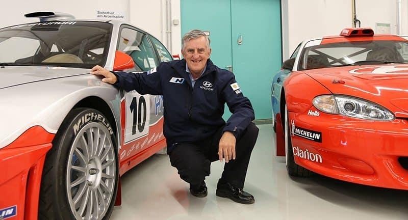 Rally driver Wayne Bell
