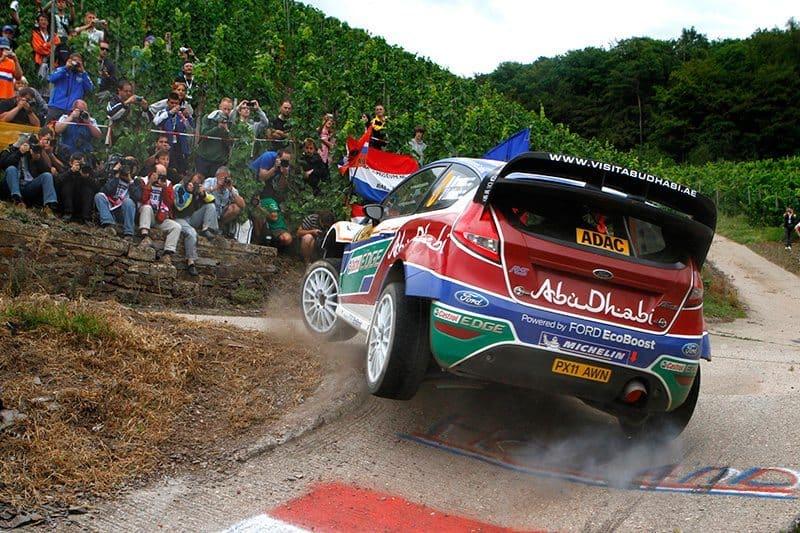 Mikko Hirvonen Rally Deutschland