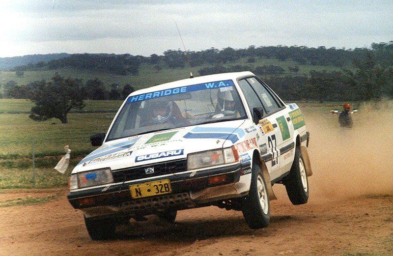 Rob Herridge Subaru RX Turbo