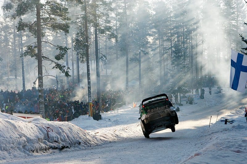 Matthew Wilson Rally Sweden