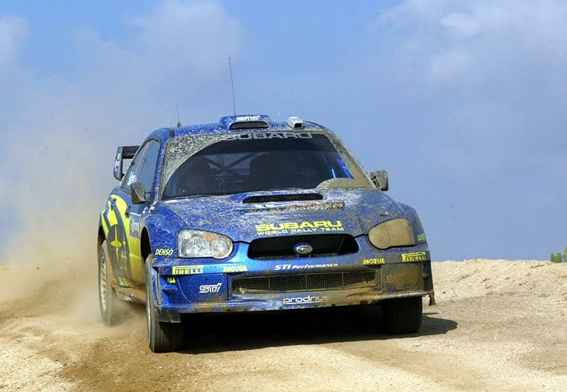 Petter Solberg Mexico 2004