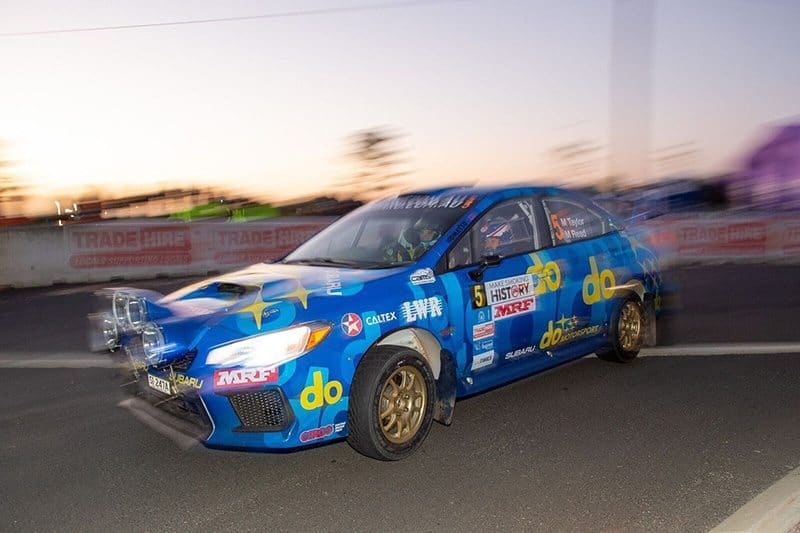 Molly Taylor Forest Rally