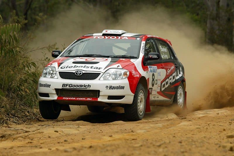 Ben Barker Toyota Corolla Sportivo