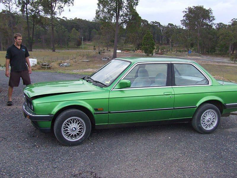 Ben Barker BMW E30
