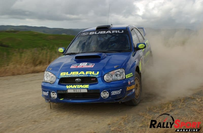 Possum Bourne, Rally New Zealand 2003