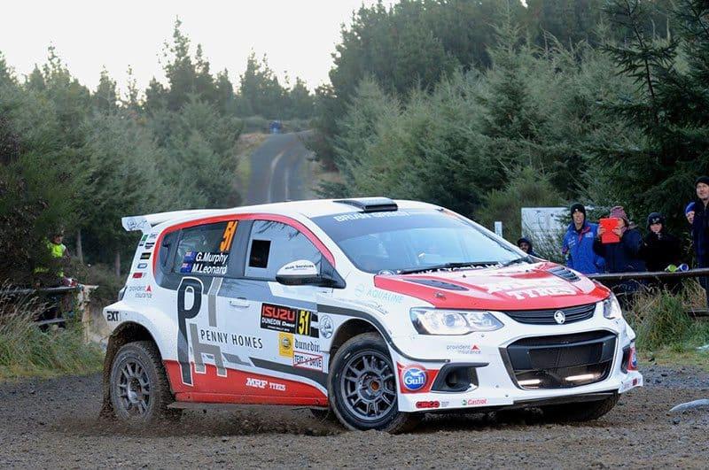 Greg Murphy Otago Rally