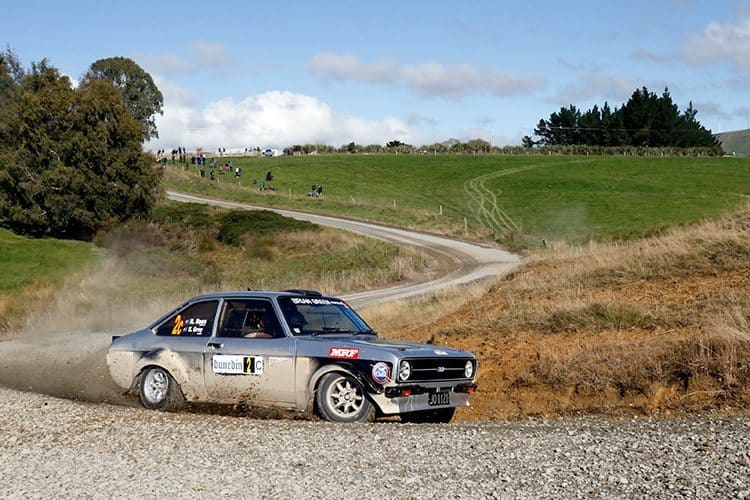 Regan Ross Otago Rally