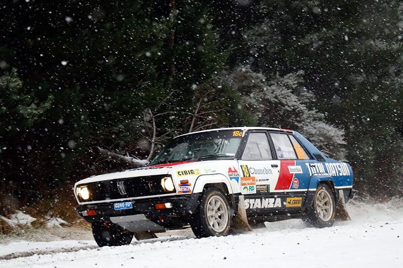 Otago Rally snow