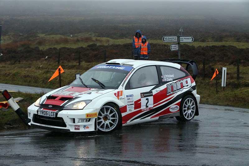 Jason Pritchard Ford Focus WRC