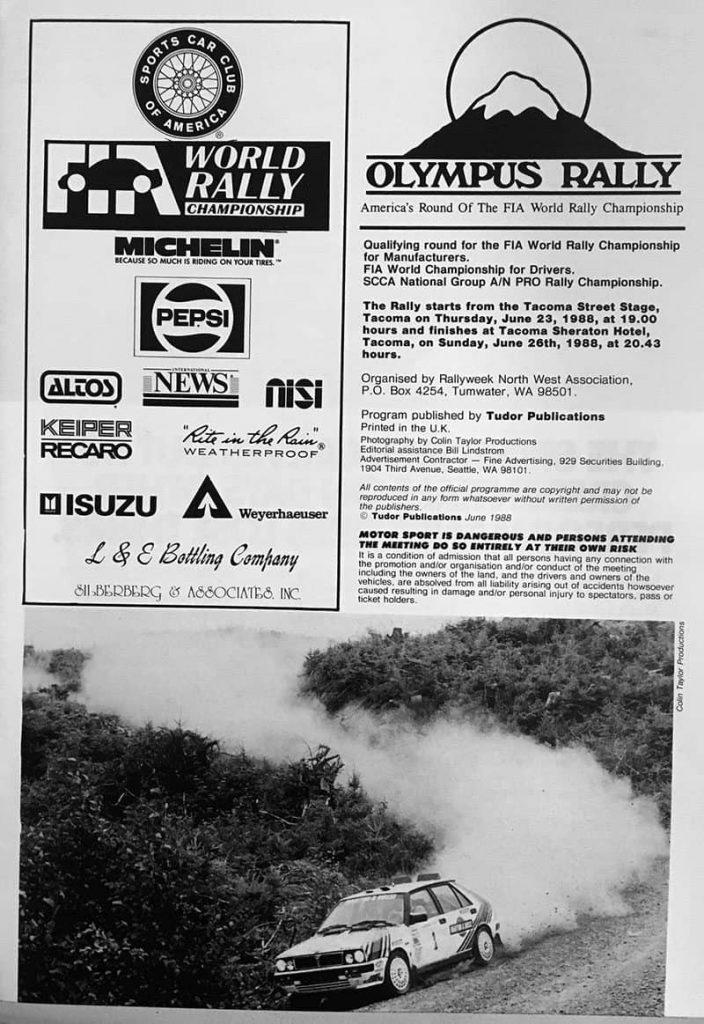 1988 Olympus Rally