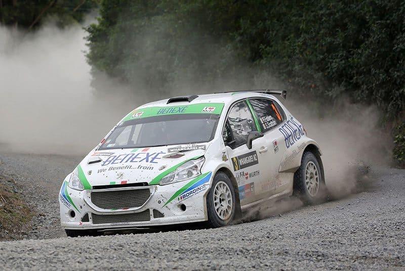 Italian Fabio Frisiero was second APRC finisher in his AP4 Peugeot. Photo: APRC