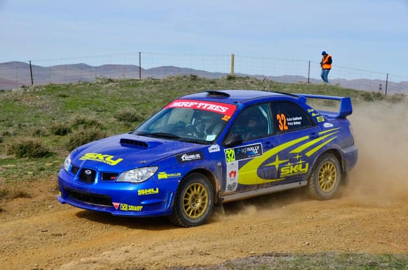 Rallying a 4WD for the first time, Peter Schey finished second in SARC. Photo: John Lemm