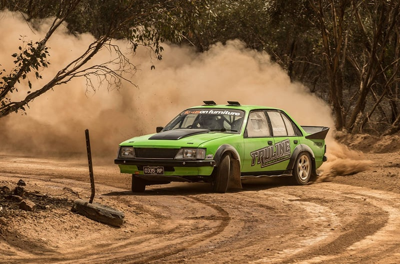 Brendan Reeves is looking forward to driving the Truline Commercial Commodore V8. Photo: Browne Bear Photography