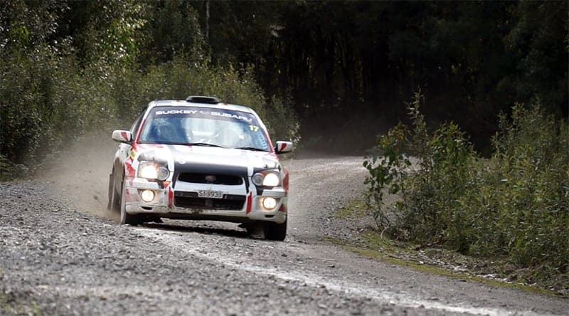 Nic Grave and Reubecca Sheldrick won the Buckby Subaru Challenge.