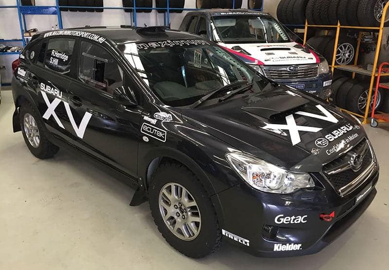 New Subaru Xv >> Herridge Unveils New Subaru Xv Rally Car Rallysport Magazine