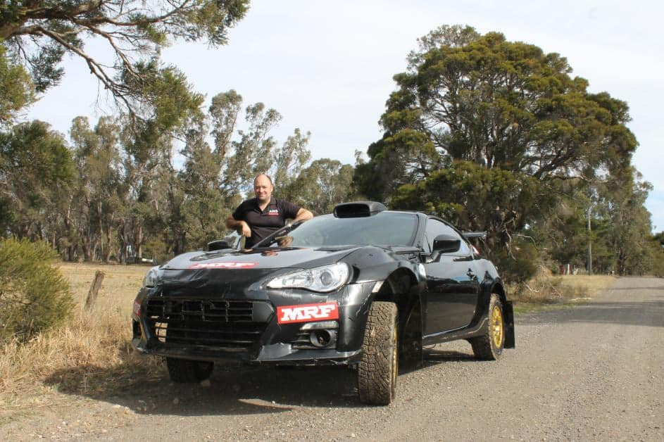 Nsw Compeor Peter Dunn Will Contest The 2019 Australian Rally Championship In A Subaru Brz That Has Had 2 Litre Turbocharged Sti Motor Installed