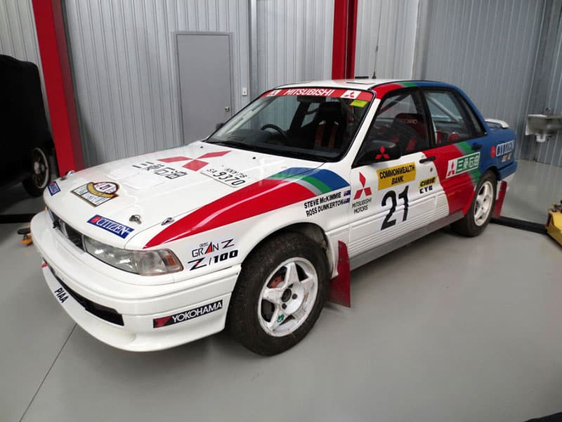 dunkerton to be reunited with works galant vr4 rallysport magazine works galant vr4 rallysport magazine