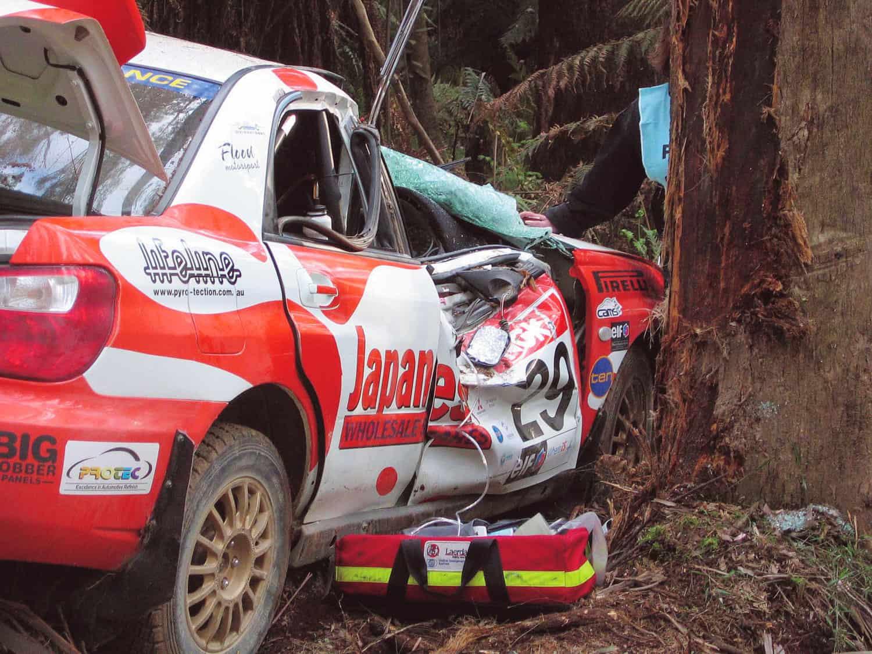 Darren Windus crash